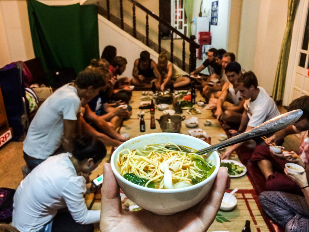 Hostel life in Vietnam