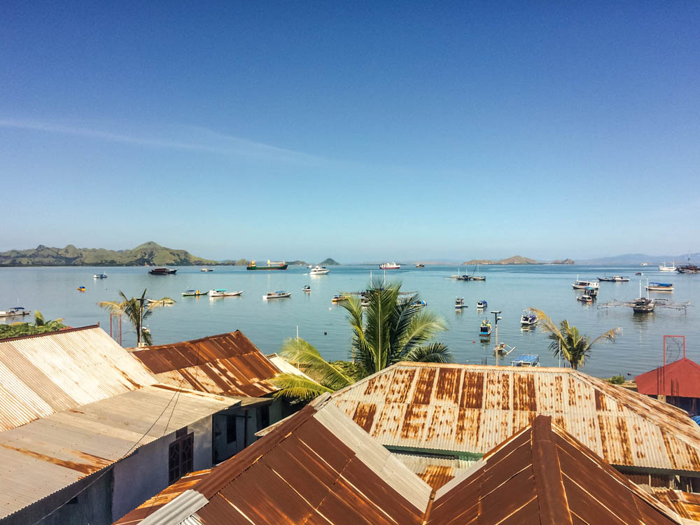 Gorgeous views the restaurants of Labuan Bajo, Flores, Indonesia