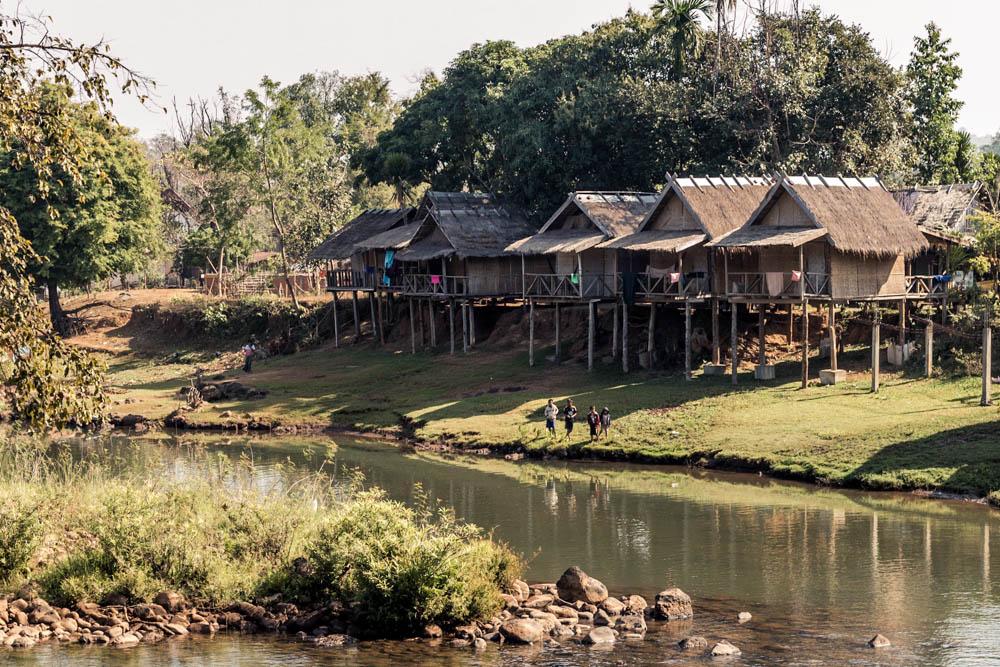 Accommodation on pakse loop, Laos