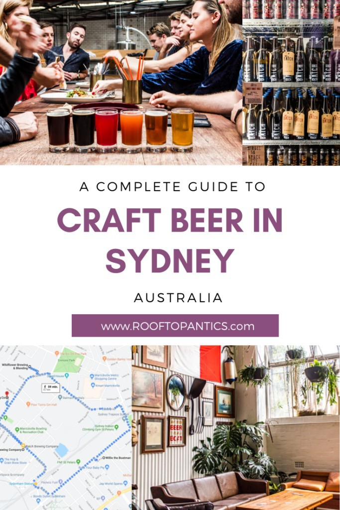 Guide to the best craft beers of the inner west breweries of Sydney, Australia