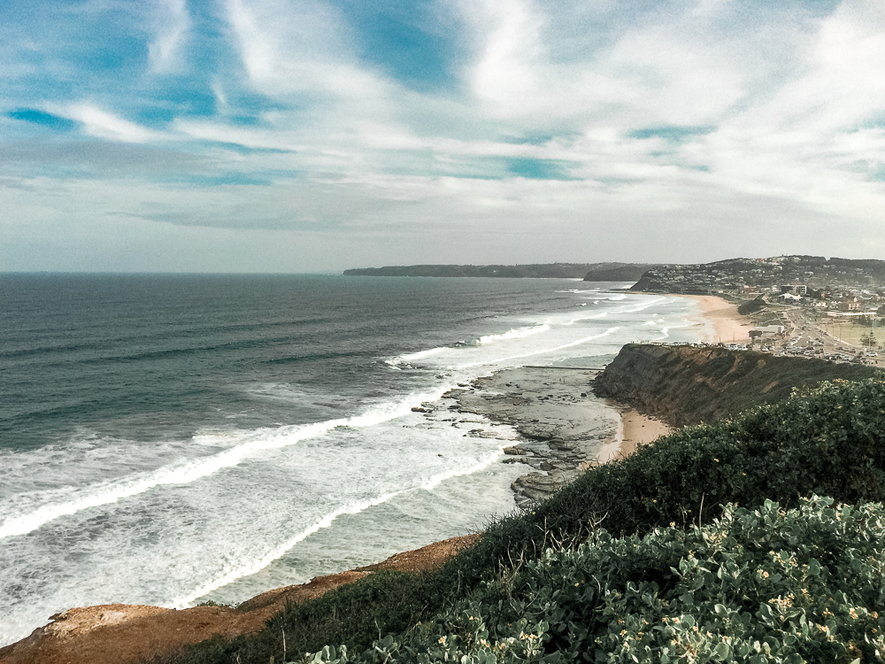 the gorgeous shoreline of Newscastle, the perfect weekend getaway from Sydney