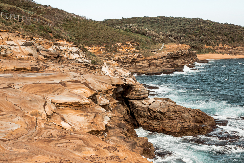 views of Bouddi National Park in Central Coast on a weekend getaway from sydney
