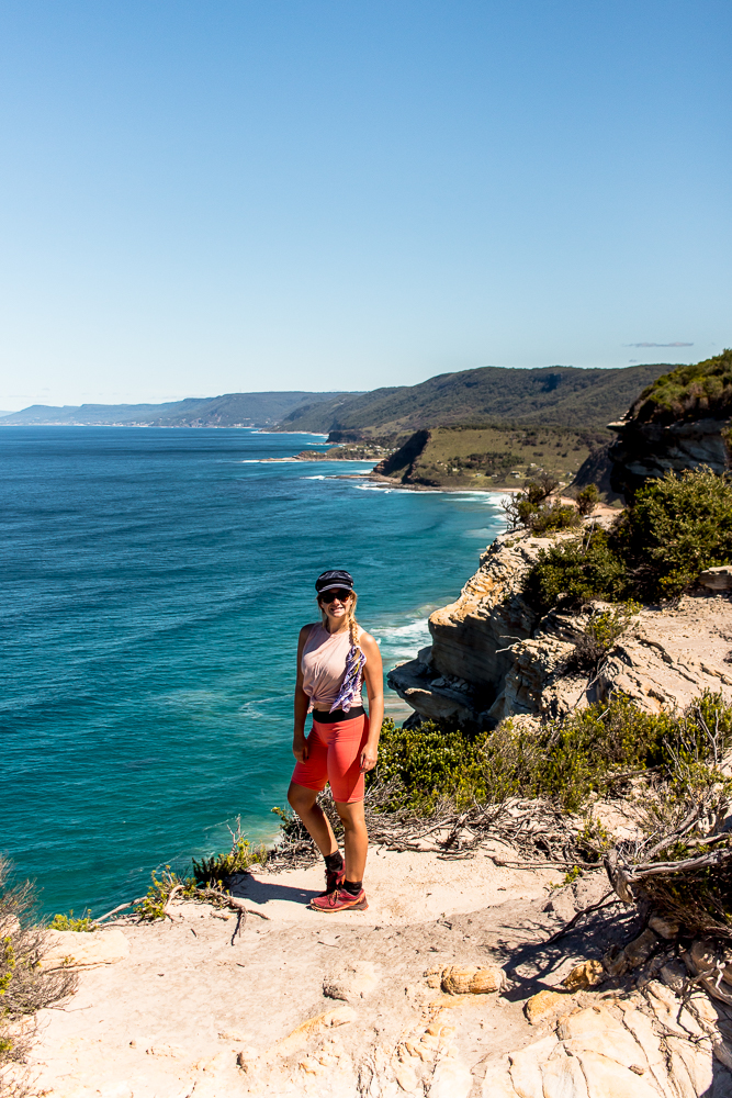 Along the Coastal Track in The Royal National Park, a perfect daytrip or weekend getaway from sydney