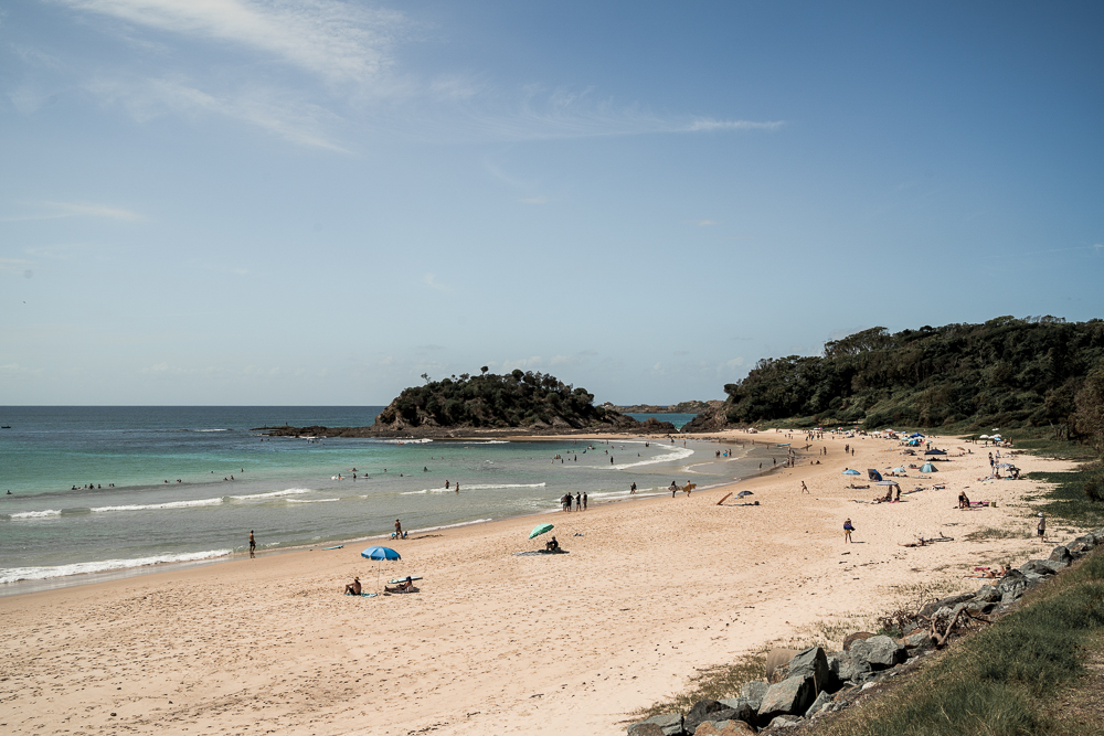 Seal Rocks in NSW is home to many idyllic beaches
