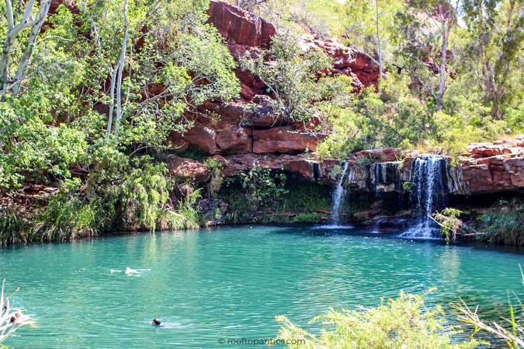 Circular Pool in Dales Gorge, Karijini National Park