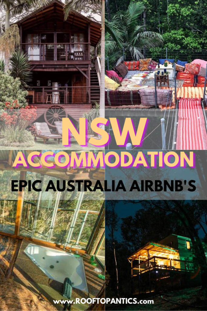 NSW accommodation: epic australia airbnb's