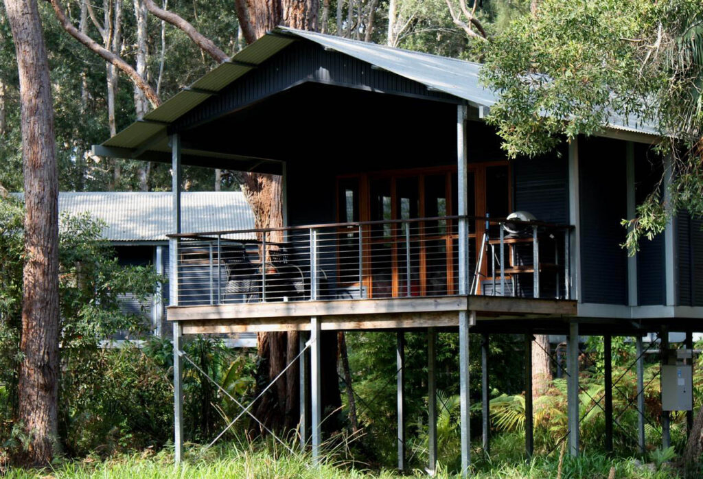 Treehouse in Crowdy Bay National Park up the Mid North Coast of NSW